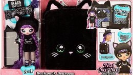 Куклы и пупсы - Na Na Na Surprise Bedroom Black Kitty, 0