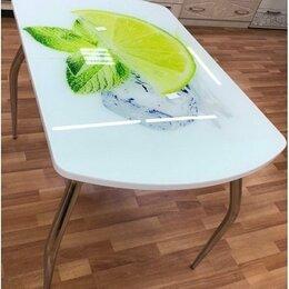 Столы и столики - Кухонный раздвижной стол с фотопечатью…, 0