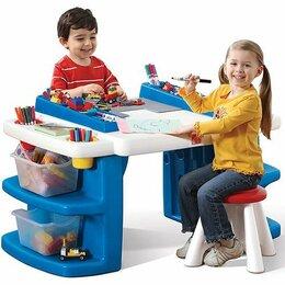 Столы и столики - Детская парта STEP2 из Америки, 0