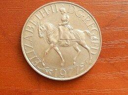 Монеты - ВЕЛИКОБРИТАНИЯ  1 крона 1977 г. , 0