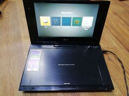 DVD и Blu-ray плееры - Портативный DVD  LG DP691D, 0