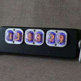 """Часы настольные и каминные - Ламповые часы """"Aviator 12"""" (цвет черный), 0"""