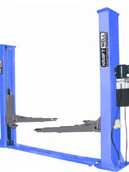 Подъемник и комплектующие - KraftWell KRW5.5MXL_blue Подъемник двухстоечный…, 0