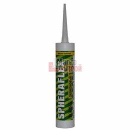 Изоляционные материалы - Герметик SPHERAFLEX силиконовый универсальный бесцветный 300мл, 0
