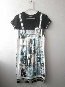Платья и сарафаны - Платье - туника летняя на девочку, S, 40-42, 0