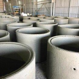 Железобетонные изделия - Жби кольца (бетонные кольца) кс 10.9 с доставкой, 0
