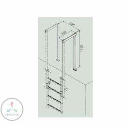Лестницы и элементы лестниц - Перила на спуске Zarges 43248, 0