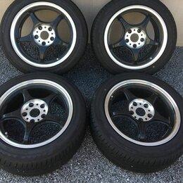 Шины, диски и комплектующие - Японская спорт облегченка 5Zigen R16, 5x114.3, 0
