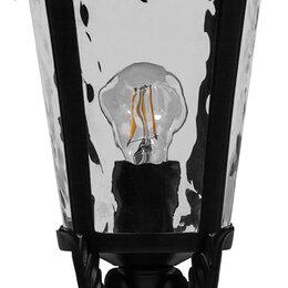 Уличное освещение - Светильник садово-парковый, 60W 230V E27 черный, IP44, PL4004, 0