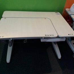 Компьютерные и письменные столы - Детская парта-трансформер TCT Nanotec M6-XS (кедр/белый), 0