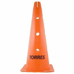Жетоны, медали и значки - Конус трен. «TORRES» арт.TR1011, пластик, высота 46 см, с отв. для штанги TORRES, 0