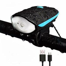 Фонари - Фара для велосипеда, велофонарь светодиодный, 0