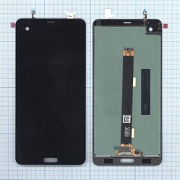 Дисплеи и тачскрины - Модуль (матрица + тачскрин) для HTC U Ultra черный, 0