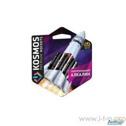 Батарейки - Элемент питания алкалиновый Lr6 Kosmos Premium Rockets (блист. 4шт) Космос Ko..., 0