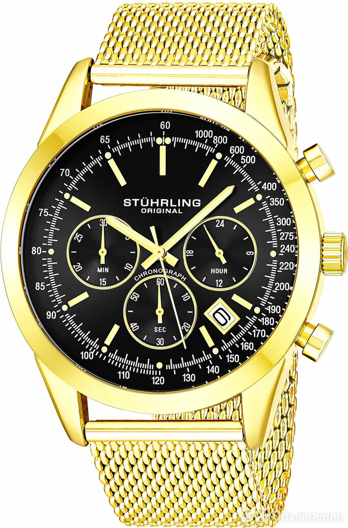 Наручные часы Stuhrling 3975.7 по цене 12240₽ - Наручные часы, фото 0