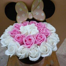 Подарочные наборы - Букет из мыльных роз на день рождения, 0
