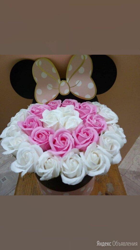 Букет из мыльных роз на день рождения по цене 1500₽ - Подарочные наборы, фото 0