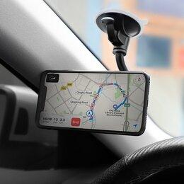 """Держатели для мобильных устройств - Авто держатель """"Hoco CA55"""" черно-серый, 0"""