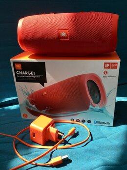 Портативная акустика - JBL Charge 3 TL, Red, отличное состояние , 0