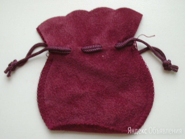 Подарочный мешочек для украшений бордовый по цене 100₽ - Подарочная упаковка, фото 0