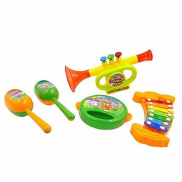 Детские наборы инструментов - Набор музыкальных инструментов, 5 предметов, 0