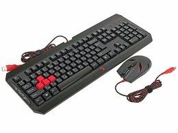 Комплекты клавиатур и мышей - Набор A4tech Bloody Q1100, 0