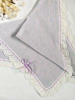 Покрывала, подушки, одеяла - Плед детский сиреневый. , 0