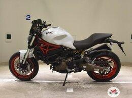 Модели - Мотоцикл DUCATI Monster 821 2015, БЕЛЫЙ пробег…, 0