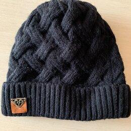 Головные уборы - Вязаные шапки мужские, 0