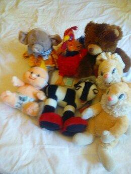 Мягкие игрушки - набор крупных мягких игрушек, 0