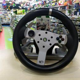 Рули, джойстики, геймпады - Руль Mad Catz Wireless Racing Wheel Xbox 360 (б/у), 0