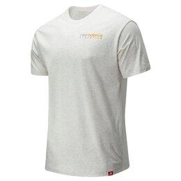 Футболки и майки - New balance мужская футболка Новая чёрная, белая, 0