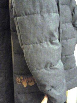 Пуховики - унисекс пальто-пуховик оч.тёплый, почти новый, р…, 0