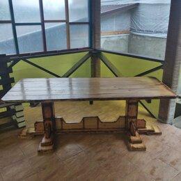Столы - Стол из лиственницы., 0