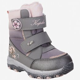 Ботинки - Ботинки Капика мембрана для девочки р.25-29 серый арт.42314-2 (25), 0
