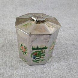 Ёмкости для хранения - Банка из под чая. Жестяная. СССР.  , 0