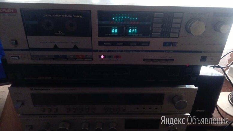 Магнитофон приставка.Морион мп-101 по цене 3200₽ - Музыкальные центры,  магнитофоны, магнитолы, фото 0