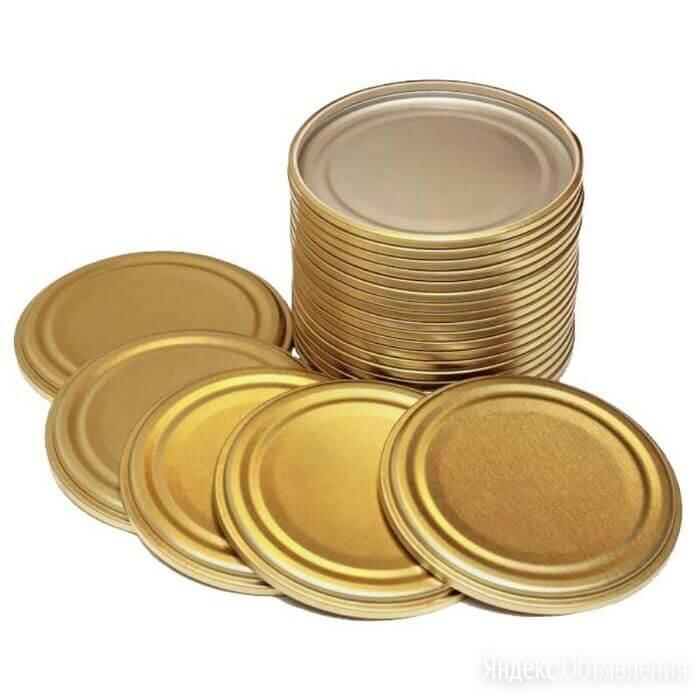 Крышка металлическая для консервирования СКО1-82 (50 шт) по цене 390₽ - Строительные смеси и сыпучие материалы, фото 0