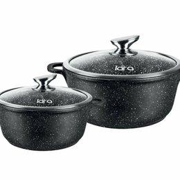 Наборы посуды для готовки - Набор кастрюль 4 предмета (3,1-5,0 л.) Литой аллюминий. Индукция., 0