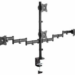 """Кронштейны, держатели и подставки - Кронштейн для мониторов Arm Media LCD-T16 черный 15""""-32"""" макс.40кг настольный..., 0"""