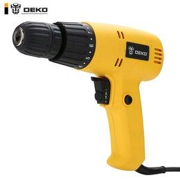 Дрели и строительные миксеры - Дрель Deko DKSD400W , 0