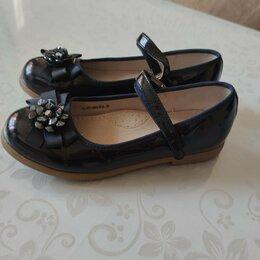 Балетки, туфли - Фирменные туфли на девочку, р 36, 0