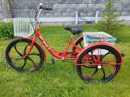 """Велосипеды - Велосипед 3-х колёсный Get Woke 26"""", на литых…, 0"""