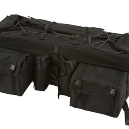 """Аксессуары и дополнительное оборудование  - Кофр-сумка для квадроциклов """"Охотник"""" черный, 0"""