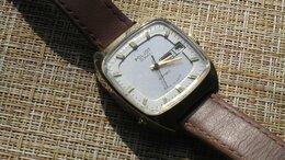 Наручные часы - Часы Полёт, двойной календарь, Au10,…, 0