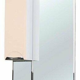 Зеркала - Зеркало-шкаф Bellezza Альфа 55 L бежевый, 0