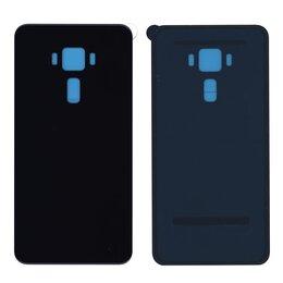 Корпусные детали - Задняя крышка для Asus ZenFone 3 ZE552KL черная, 0