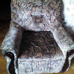 Кресла - Старое мягкое кресло, 0