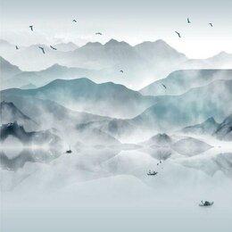 Обои - Фотообои с горным озером, 0