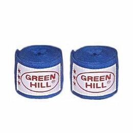 Аксессуары и принадлежности - Бинт боксерский Green Hill BC-6235c 3,5м синий, 0